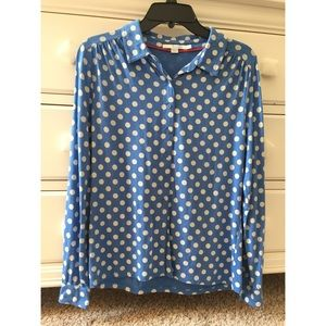 Boden Women's Jersey Shirt, NWOT, M